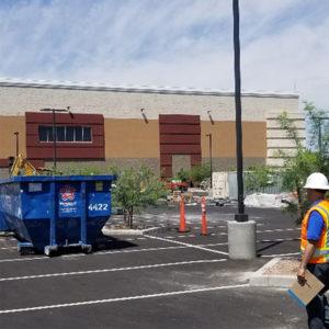 Las Vegas construction clean up