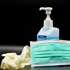 office cleaning during flu season